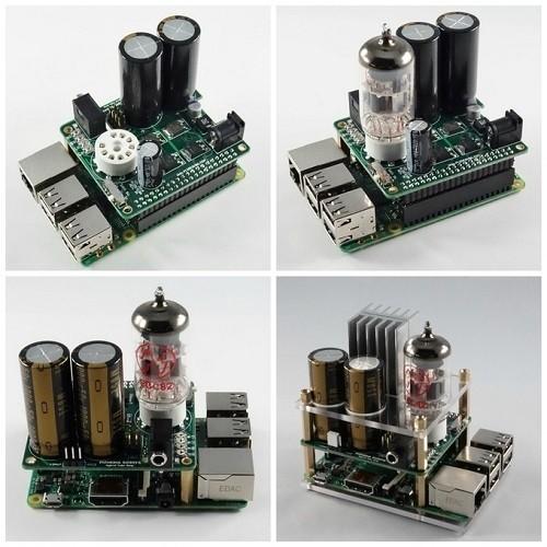 Schema Elettrico Amplificatore Valvolare Per Chitarra : Hta raspberry pi con amplificatore valvolare sopra