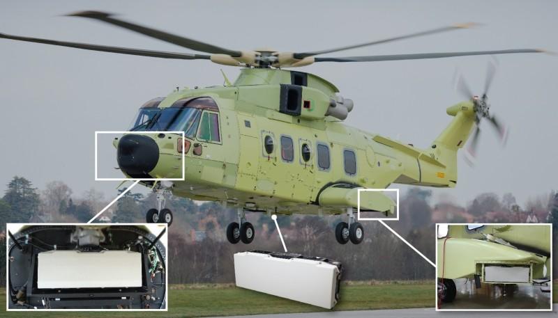 Osprey Elicottero : Radar osprey una rivoluzione italiana per gli elicotteri