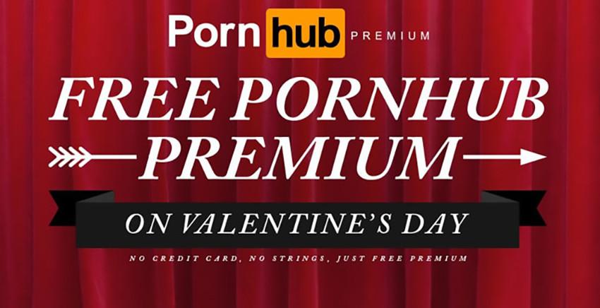 San Valentino con Pornhub: +308% di accessi, contenuti Premium gratuiti