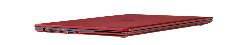 48473 LIFEBOOK U938 red edition   left side interfaces