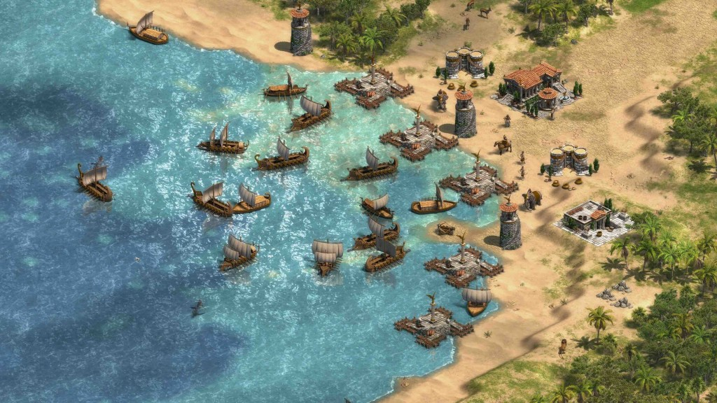 Age of Empires Phoenician Harbor