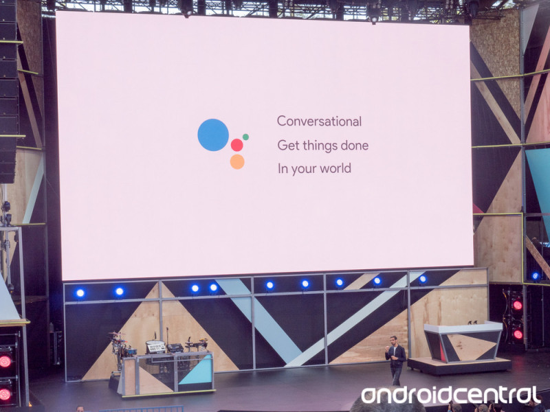 google assistant watermarked