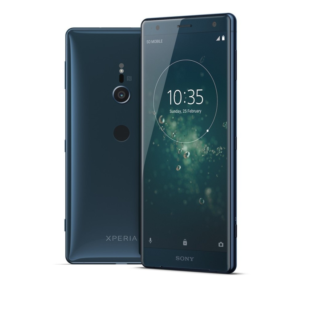 18 Xperia XZ2 Deep Green Group