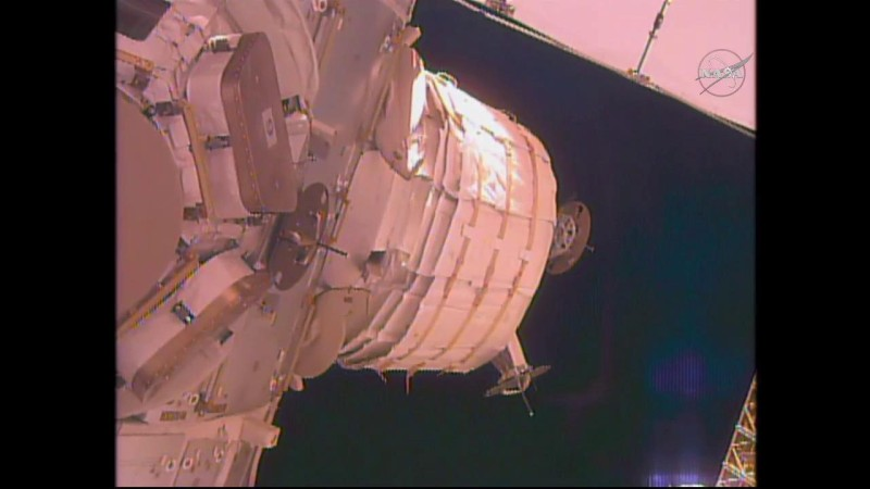 snaps beam still about beam expansion on nasa tv public  r4