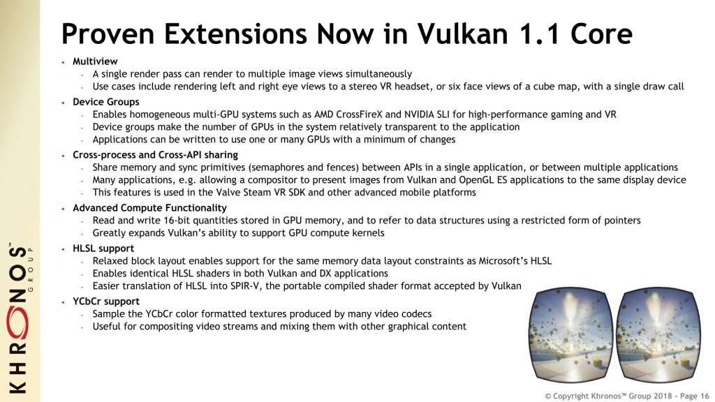 vulkan 1 1 launch presentation march 2018 16