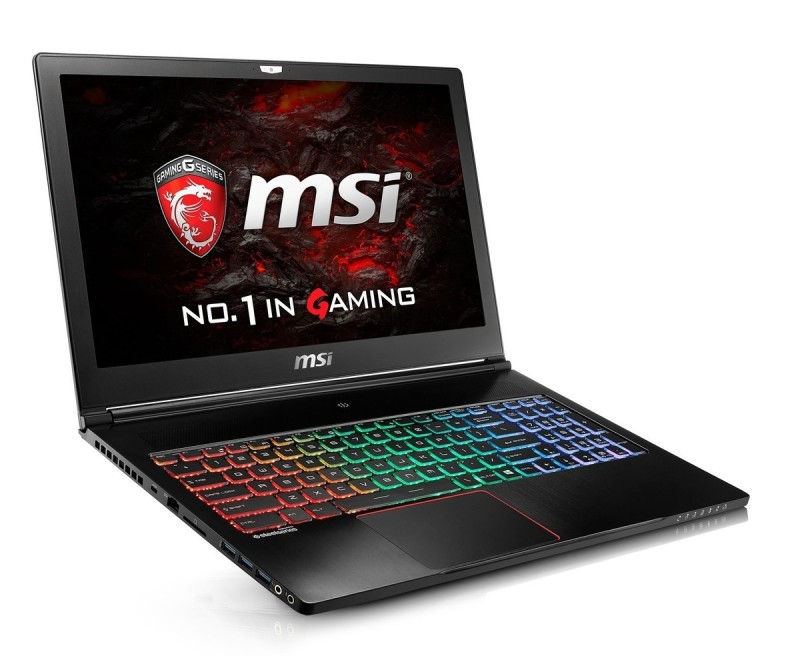 msi thinner gaming laptop