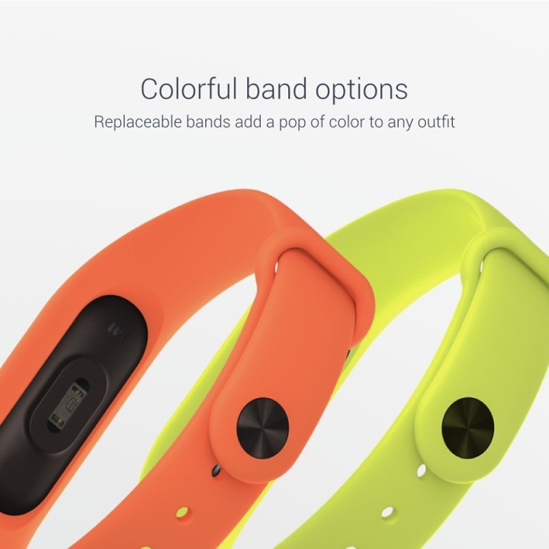 Xiaomi annuncia il Mi Band 2 con display OLED