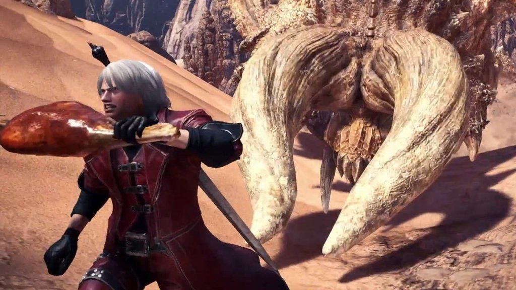 Monster Hunter x Devil May Cry