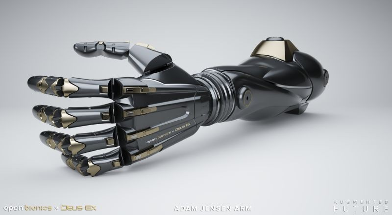 DXMD Artwork DXU Adam Jensen Arm 01