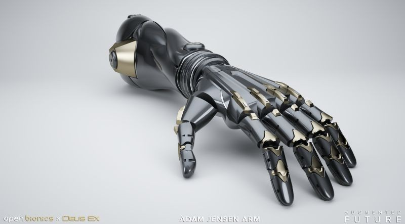 DXMD Artwork DXU Adam Jensen Arm 02