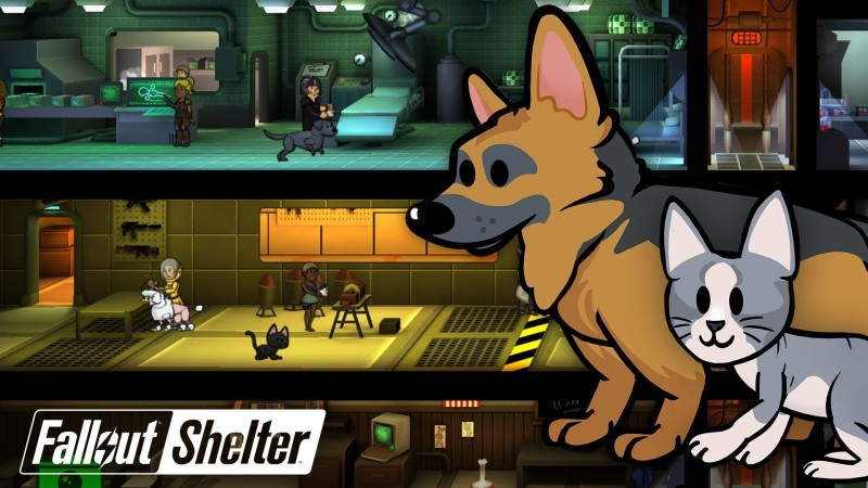 fallout shelter pets