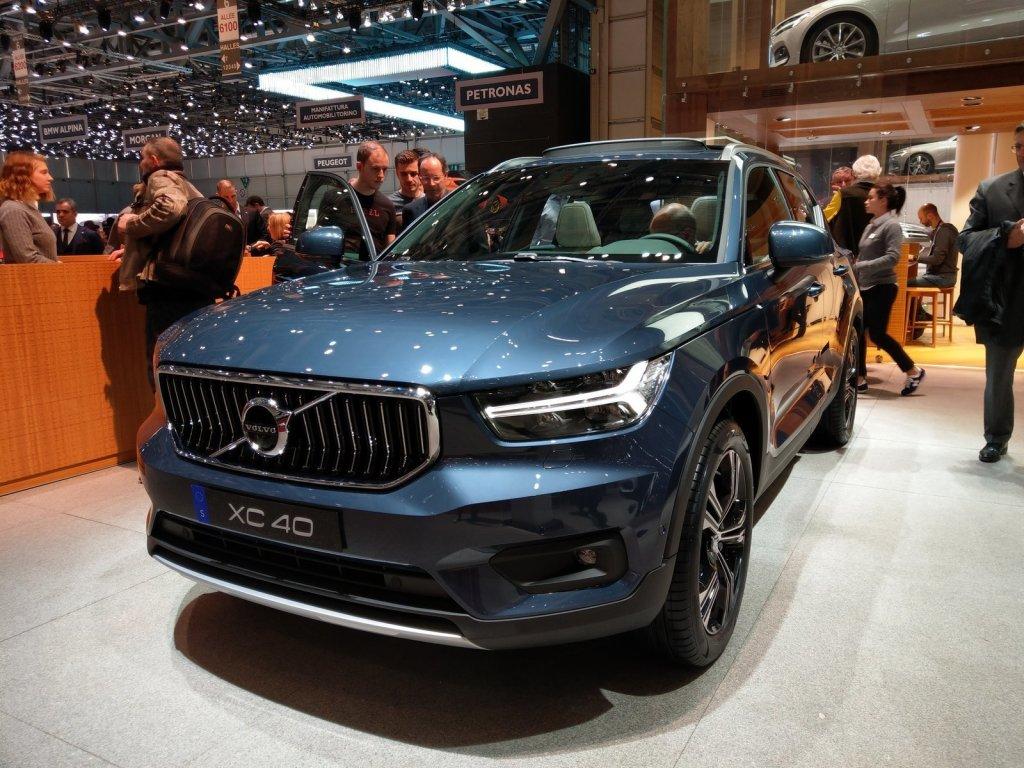 Volvo Xc40 Car Of The Year Al Salone Di Ginevra Tom 39 S
