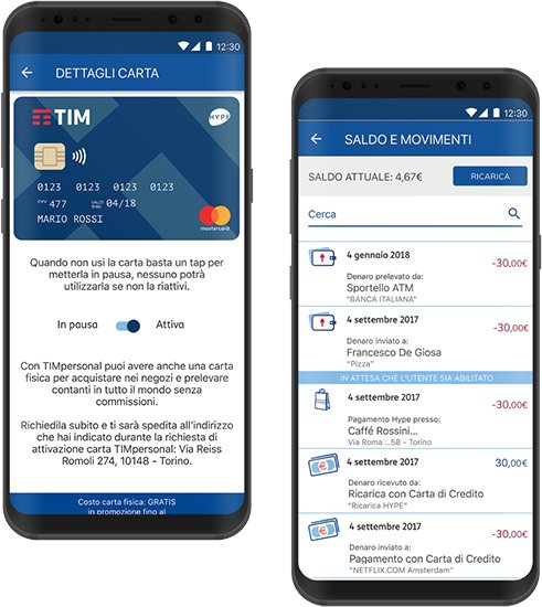 TIMpersonal, il mobile banking compatibile con Apple Pay
