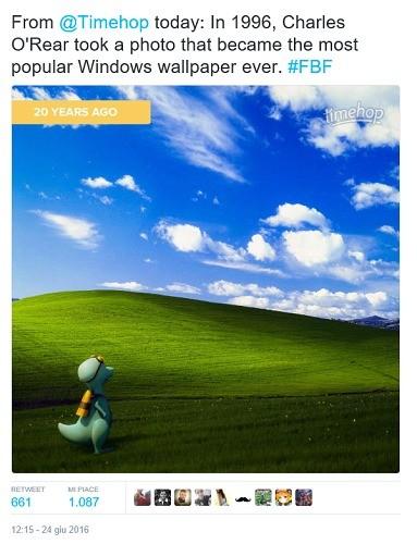 Windows Comè Nato Il Famoso Wallpaper Che Compie 20 Anni Toms