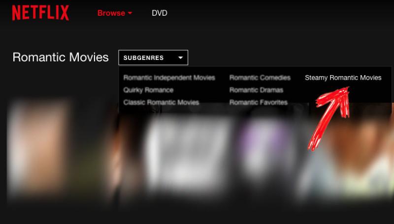 Filmy na Netflix z porno
