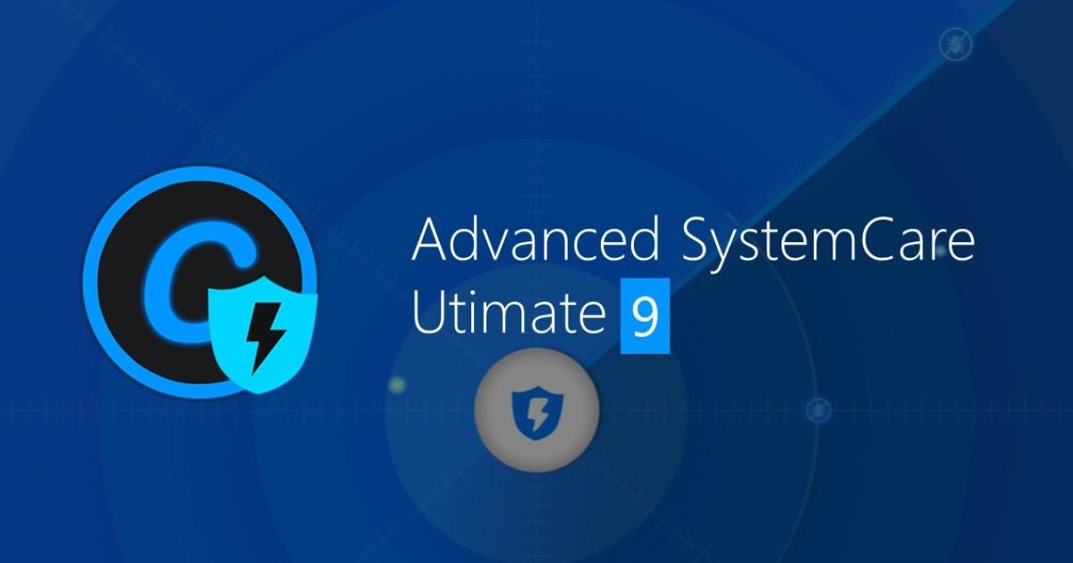 IObit Advanced SystemCare 9, il PC scattante con un click