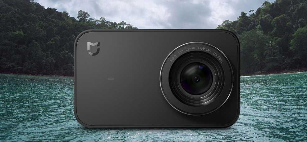 Xiaomi Mijia 4K mini Action Camera supports Wi Fi