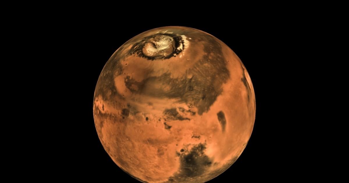 Marte nel video 3D dell'agenzia spaziale indiana