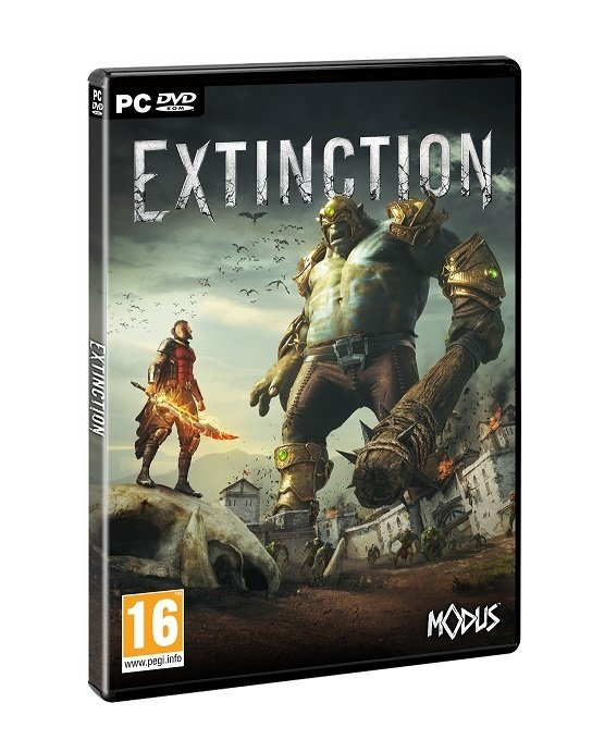 Extinction  PEGI PC 3D Box