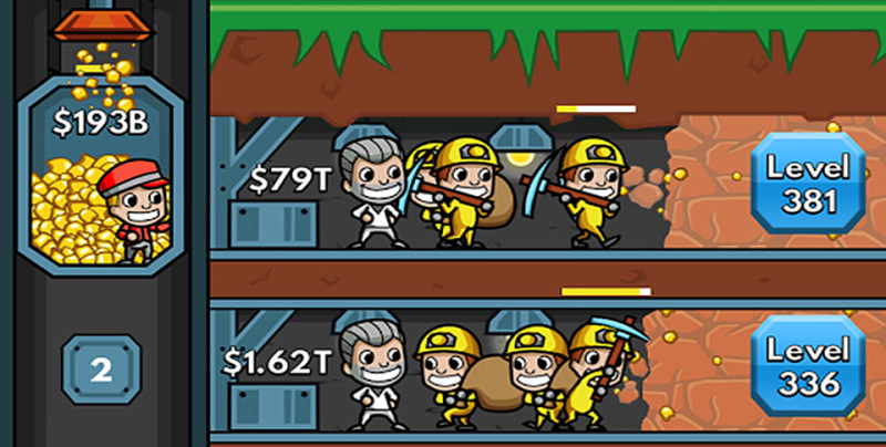 Idle Miner Tycoon Android Game