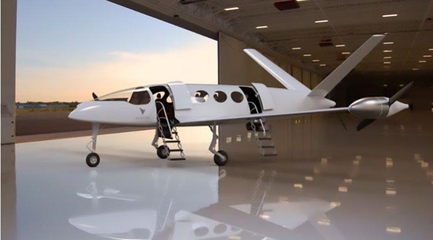 Aerei elettrici anche nel futuro dei voli a medio raggio