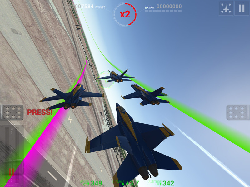 Blue Angels Aerobatic Sim Android Game 4