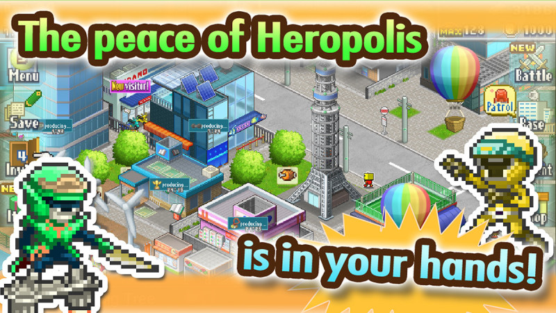 Legends of Heropolis Android Game 1