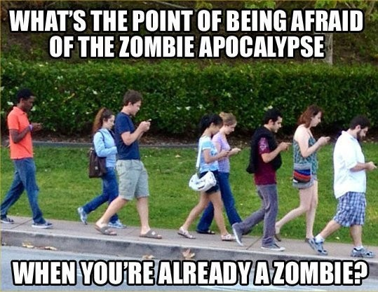 no need to fear a zombie apocalypse