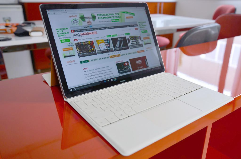 Huawei MateBook, il 2 in 1 con la qualità da sfoggiare - Tom's Hardware