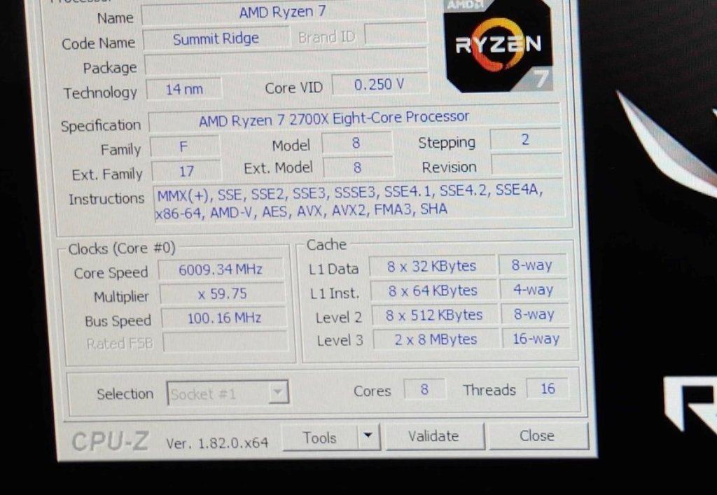 Ryzen 7 2700X a oltre 6 GHz sotto azoto liquido | Tom's Hardware