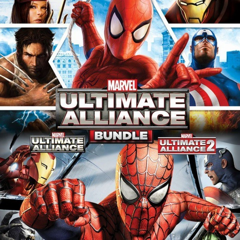 Marvel Ultimate Alliance   La grande alleanza bundle
