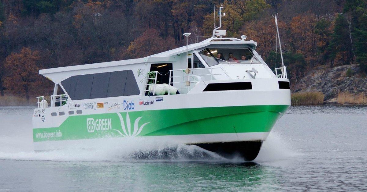 BB Green, il traghetto elettrico europeo da 100 passeggeri