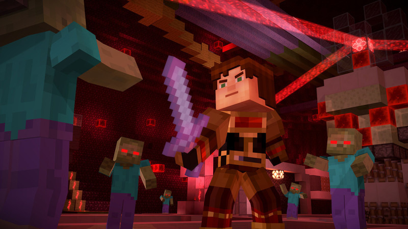 Minecraft Story Mode Ep7 Android Game 1