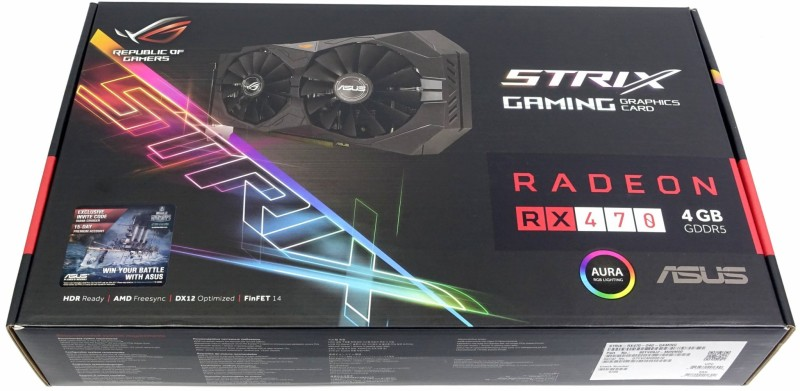 Asus RX 470 Strix Box