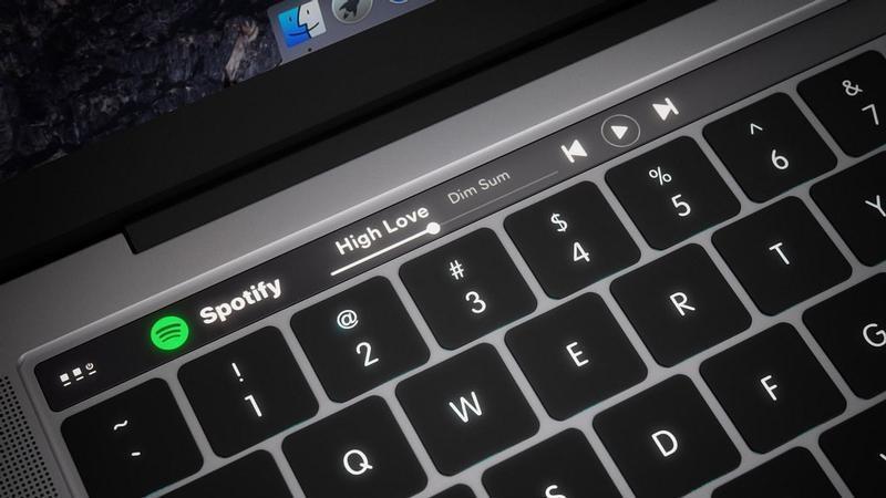 Nuovi MacBook Pro con tasto di accensione Touch ID e Touch-Bar OLED?