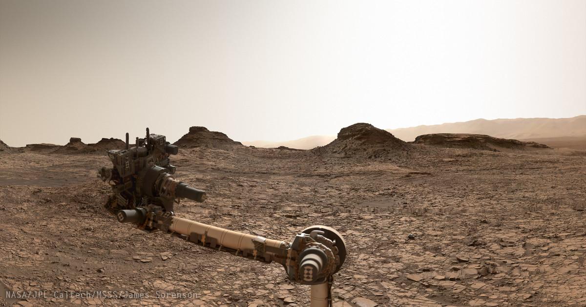 Da Curiosity Marte a 360 gradi e la Monument Valley marziana
