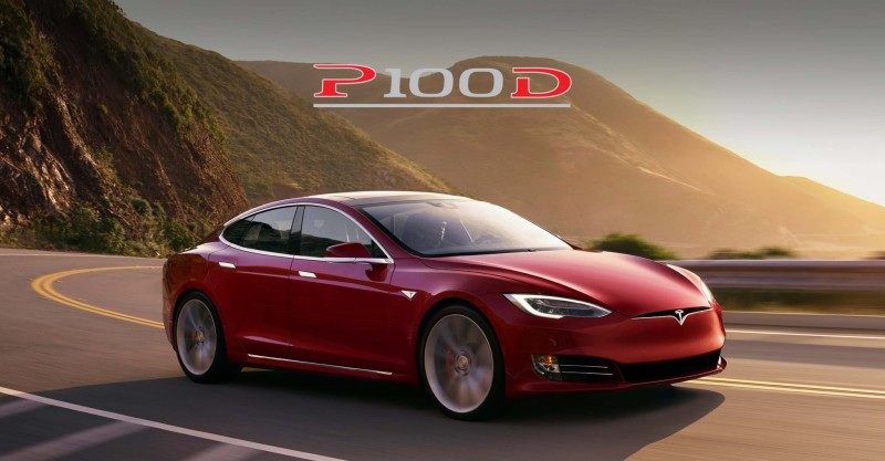Tesla Model S P100D, da 0 a 100 km/h in 2,5 secondi