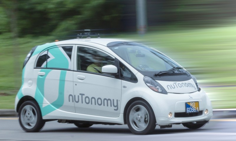 Il primo taxi senza pilota è di Singapore