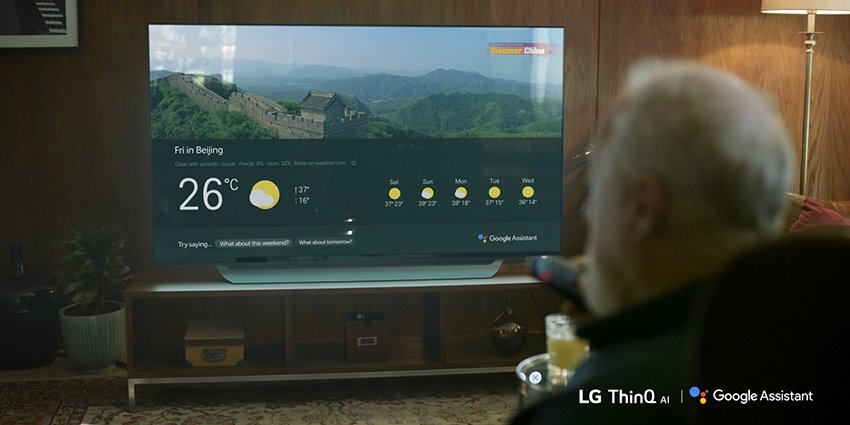 LG TV Google Assistant Launch 03