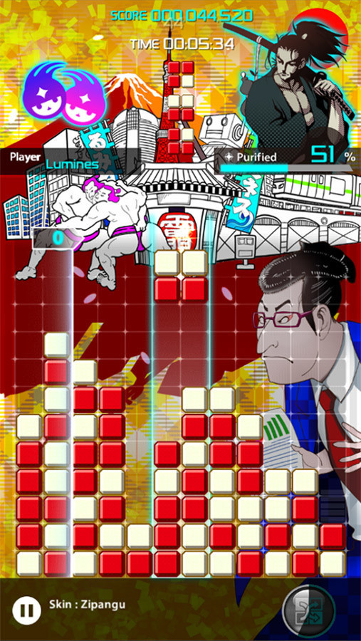 Lumines Android Game 1