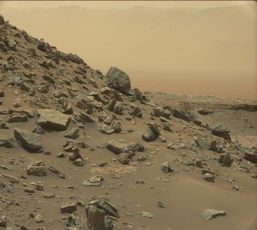 mars curiosity rover msl rock PIA21041 full
