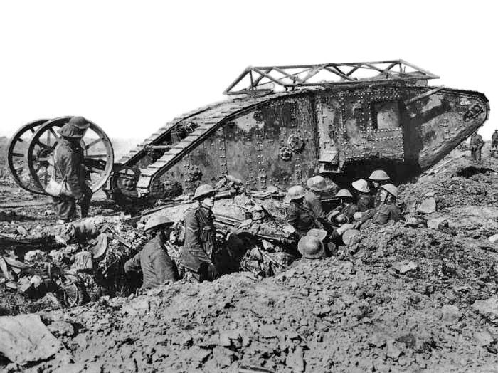 15 settembre 1916, entrano in scena i primi carri armati