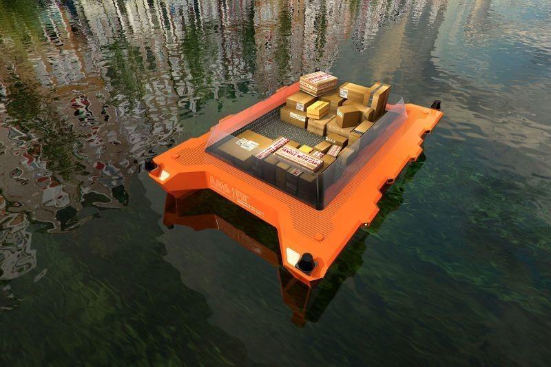 Nei canali Amsterdam una flotta di 'Roboat', le barche robot