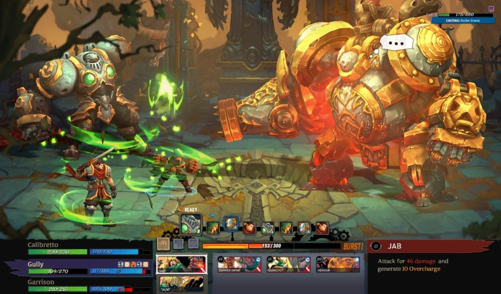 battle chasers nightwar screenshot 3