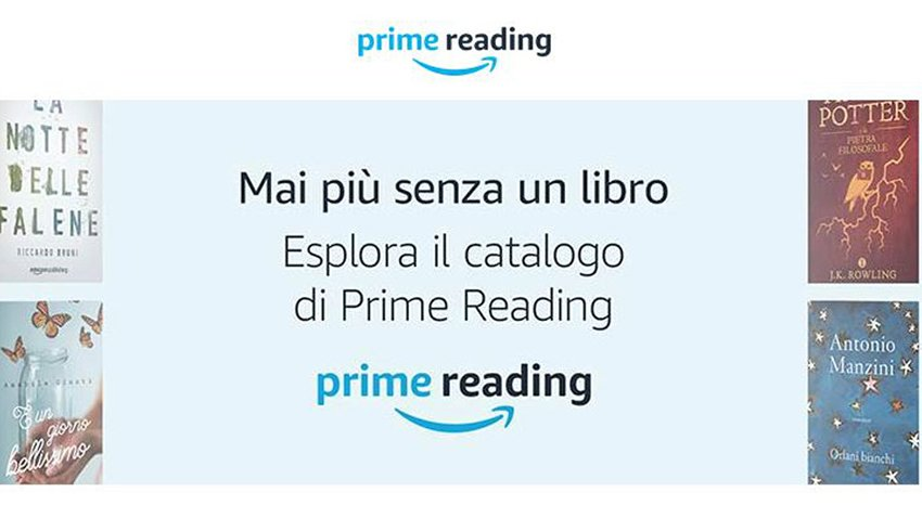 Amazon Prime Reading: centianaia di ebook gratis per i clienti Prime