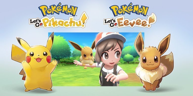 pokemon lets go pikachu and eevee