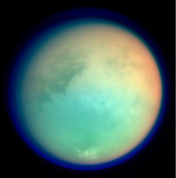 titan ultraviolet infrared
