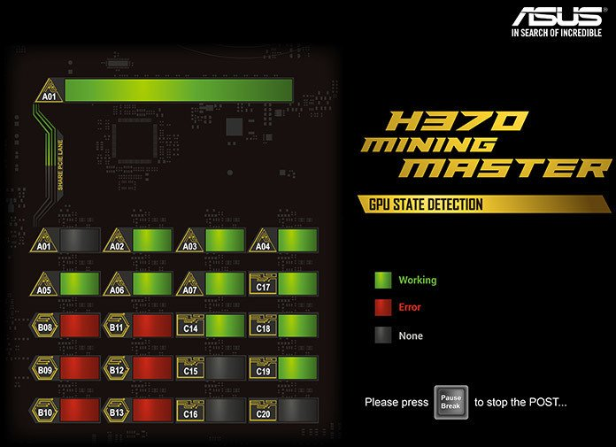 h370 mining master statedetection