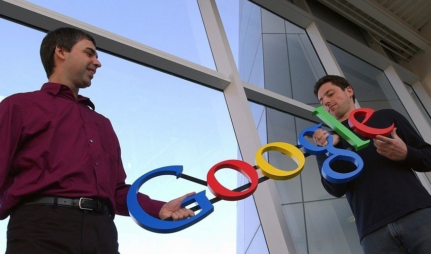 Sergey Brin and Larry Page