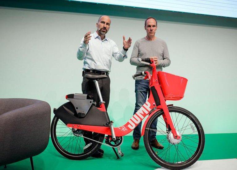 Uber porta le sue bici elettriche anche in Europa